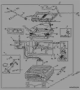 Air Seat Suspension - Tractor John Deere 7930 - Tractor