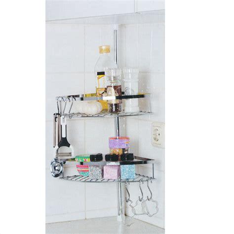 cuisine inox étagère de cuisine télescopique inox 2 paniers 6 crochets maison futée