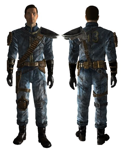 fallout 3 jumpsuit fallout 3 vegas armored jumpsuit