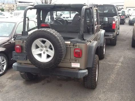 used 2 door jeep rubicon find used 2004 jeep wrangler rubicon sport utility 2 door