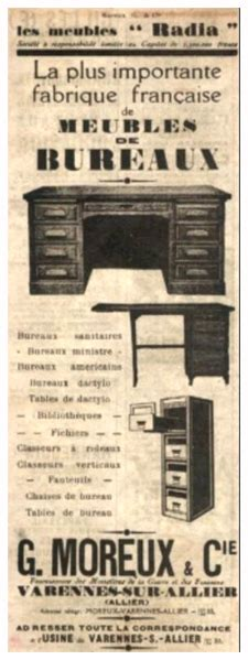 bureau varennes ancien classeur à rideau des ées 50 pour votre