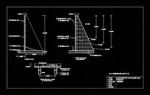 Retaining Wall DWG Detail for AutoCAD • Designs CAD