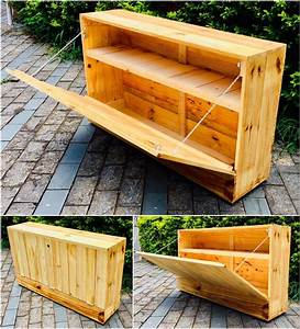 Inexpensive, Recycled, Wooden, Pallet, Ideas