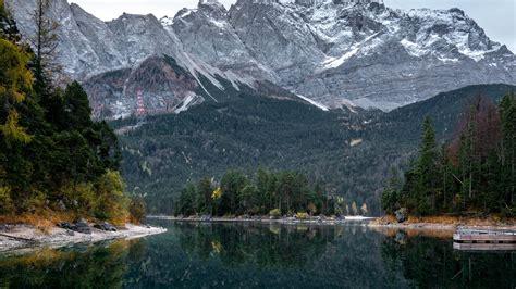 Download Wallpaper 1920x1080 Lake Trees Mountains Water