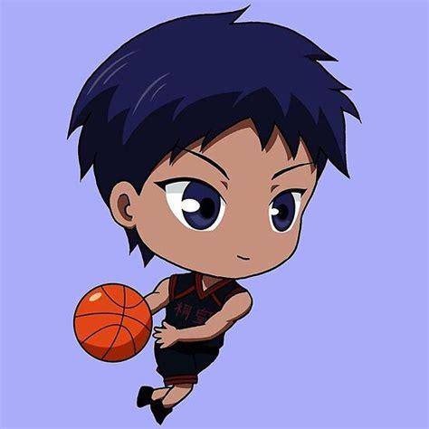 kuroko no basket aomine daiki chibi kuroko no basket