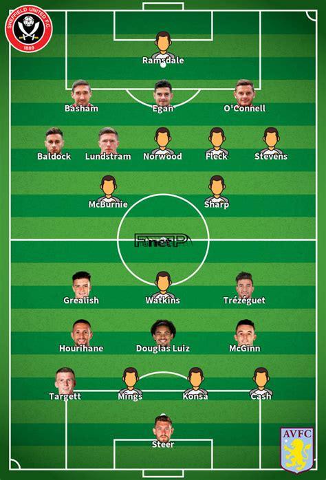 ᐉ Aston Villa vs Sheffield United Live Stream & Tip - 21 Sep