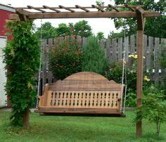 awesome pergola swing set plans images projects