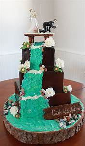 this cake is a collision of two vision the groom wanted a