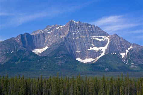 mountain, Forest, Sky, Landscape Wallpapers HD / Desktop ...