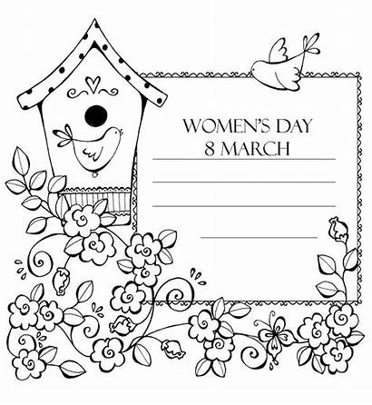 March Coloring Womens 8th Raskrasil Printable International