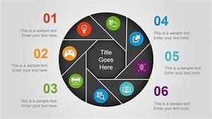 Make 3d Pie Chart Circular Diagrams Powerpoint Template Slidemodel