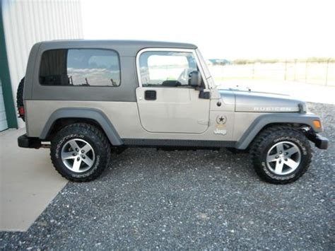 used 2 door jeep rubicon buy used 2005 jeep wrangler unlimited rubicon sport