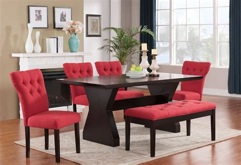 Red Kitchen Tables Furniture  Kitchen Tables Sets