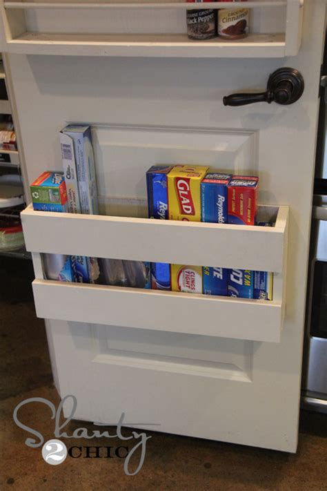 The Door Organizer For Pantry Kitchen Organization Diy Foil More Organizer Shanty