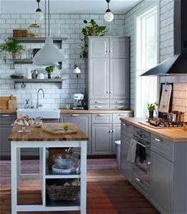 Ikea Bodbyn Grau : traditionelle k che in grau mit bodbyn fronten keramiksp lbecken und einem freistehenden ~ Markanthonyermac.com Haus und Dekorationen
