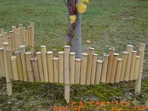 Bordure Bois Pas Cher : bordures en bambou irreguli res massif lot de 2 ~ Dailycaller-alerts.com Idées de Décoration