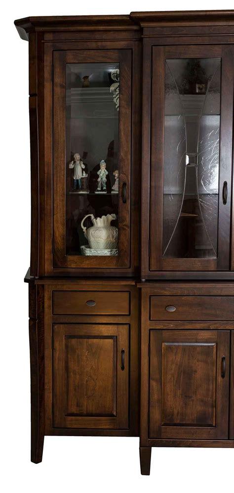 brookline vanity amish made china cabinet