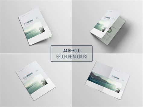 A4 Bifold Brochure Mockup 20 Free Catalog Brochure Mockup Templates In Psd