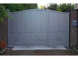 Portail Electrique Battant : portails battants fournisseurs industriels ~ Melissatoandfro.com Idées de Décoration