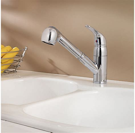 polished chrome pfirst series 1 handle pull out kitchen