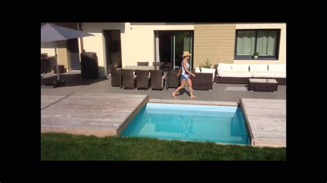le rolling deck la nouvelle terrasse mobile de piscine