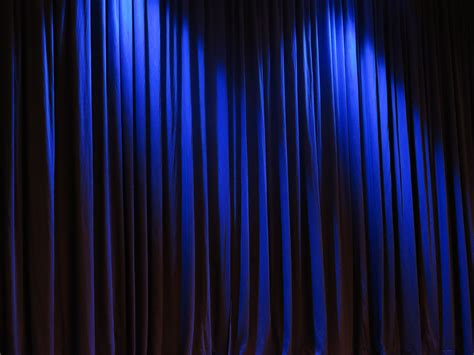 Blue Curtains by Free Images Light Line Darkness Fabric