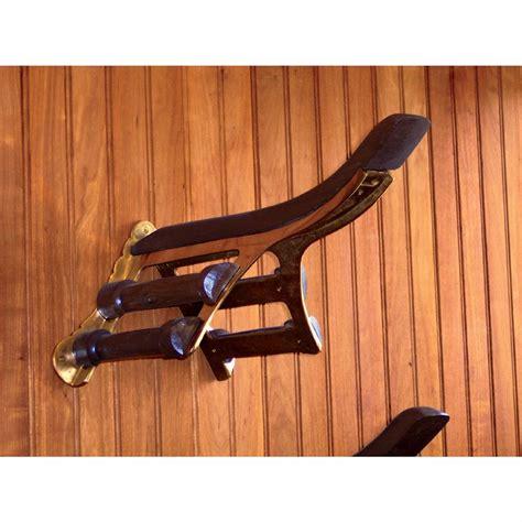 the saddle rack brass wood saddle rack dover saddlery
