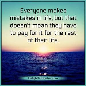 We all commit mistakes in life – Delightful Quotes