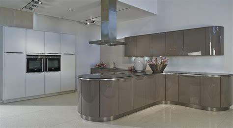 designer kitchen grey white kitchenfindr