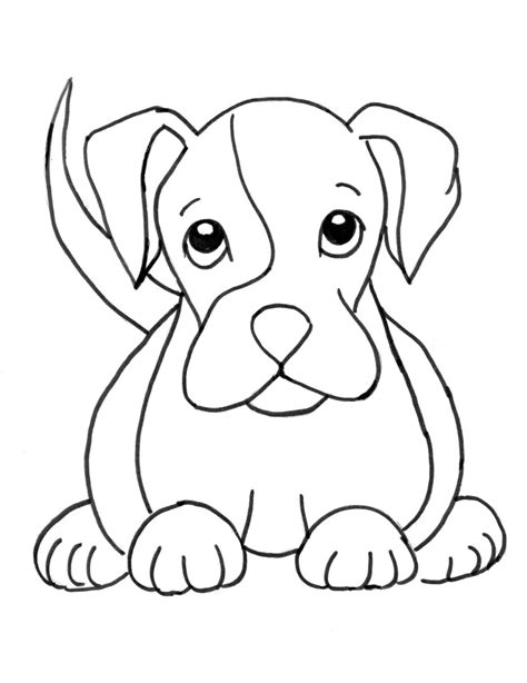 boxer puppy coloring page samantha bell