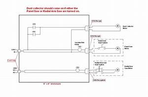 How To Wire Wood Dust Collector To Come On Same Time As Saw