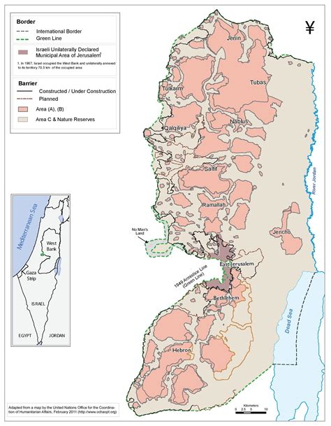 C Dodge Map by Passia Maps Palestine Area C