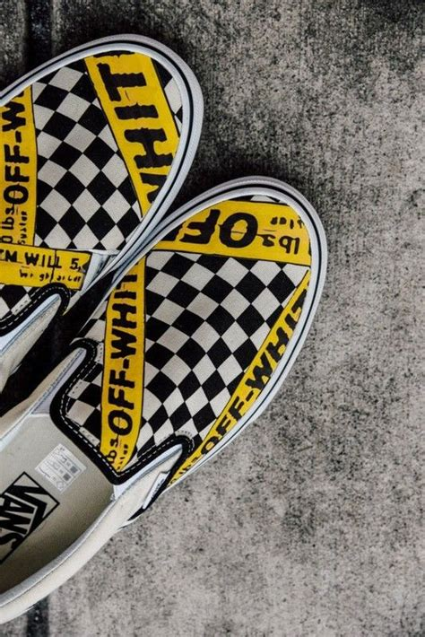 amac custom vans usa amac customs checkerboard slip on classic yellow