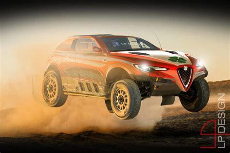Alfa Romeo Stelvio Dk Sognando Il Rally Dakar [rendering]