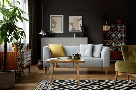 ciri desain interior vintage  rumah modern