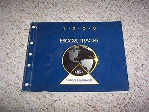 1999 Mercury Tracer Electrical Wiring Diagram Manual Ls Gs