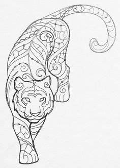 7 Best Tiger outline images in 2018 | Drawings, Drawing s, Paint