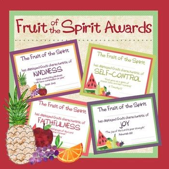 fruit   spirit award certificates  lisa lohmann tpt