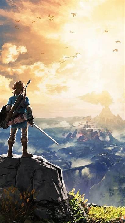 Zelda Iphone Wallpapers Backgrounds Legend Breath Wild