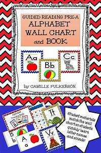 this colorful alphabet chart and matching tracing booklet With tracing letters booklet