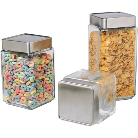 glass kitchen canisters stackable glass kitchen canisters in kitchen canisters