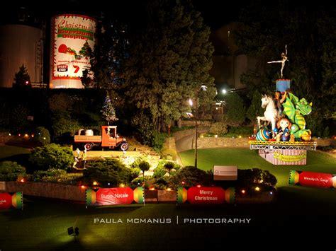 west end brewery riverbank christmas lights display 2014
