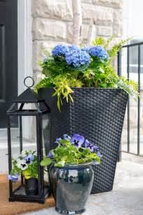 porch planter ideas  inspiration  patio