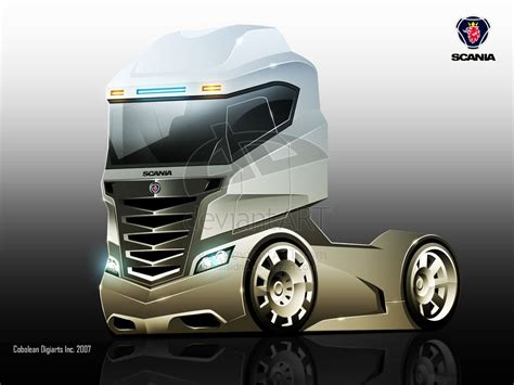 Future Truck Concepts by Scania Concept Truck By Hafisidris On Deviantart Trucks