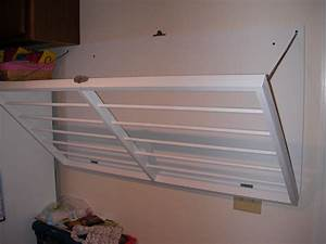 laundry room drying rack wall mounted : Making a Laundry