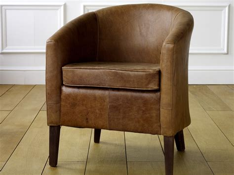 Tub Chair Company by Leather Tub Chair Est Leather Armchairs