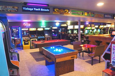 Gameroom : The Basement Arcade