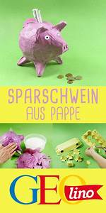 Sparschwein Aus Pappmache : sparschwein aus pappe basteln basteln mit kindern ~ Orissabook.com Haus und Dekorationen