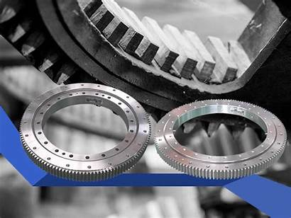 Slewing Bearing Drive Ring Worm Gear Ball
