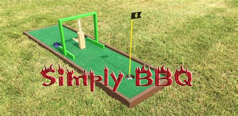 portable mini golf  hole rental simply bbq catering